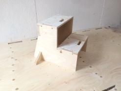 Mouting box - step