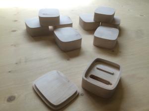 Necklace presentation boxes
